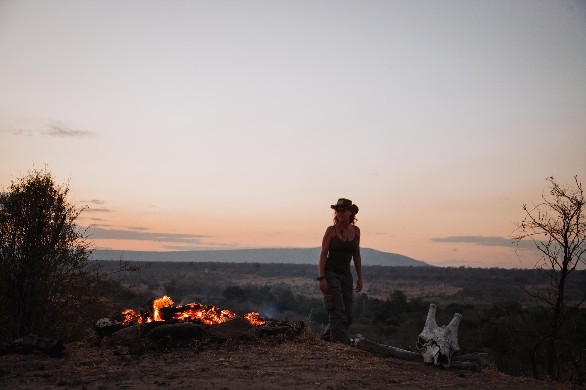 Selous walking safaris
